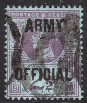 Great Britain ~  Scott # O56  / SG O44 Official ~ Used ~ Army
