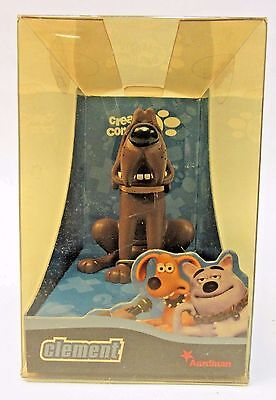 CLEMENT BLOODHOUND Aardman Creature Comforts resin animation figure MINT in box