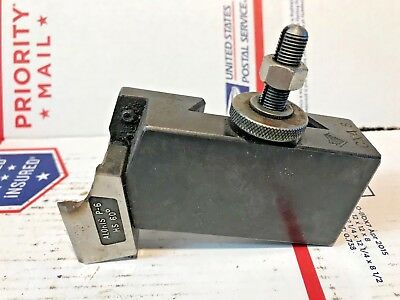 Aloris CXA 8 Thread Cutting Quick Change Lathe Tool Holder, Machinist, Free Ship