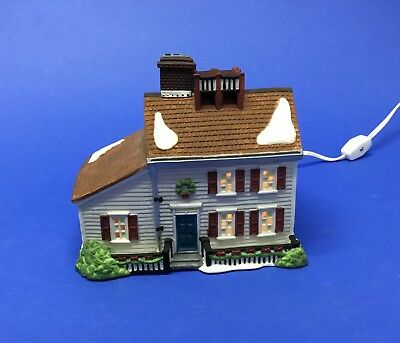 """Dept 56 """"Jeremiah Brewster House"""" New England Village Series HV Collection"""