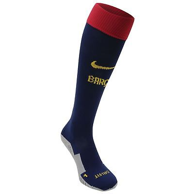 Nike FC Barcelona Football Socks Junior Size:5-8