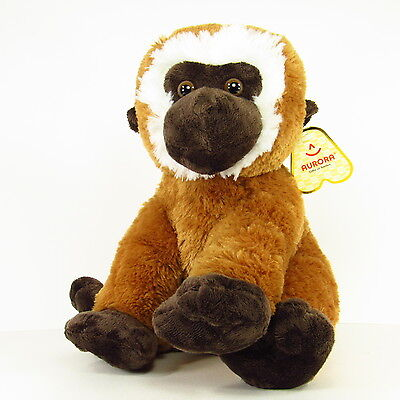 "Gibbs Plush Stuffed Gibbon Monkey 15"" New with Tags by Aurora"