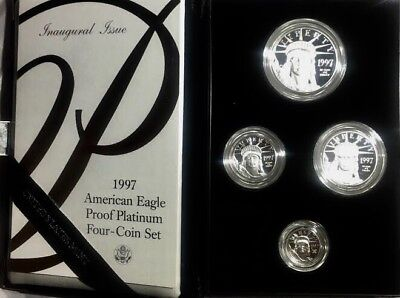 1997 American Eagle Proof Platinum Four Coin Set