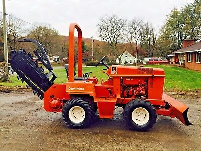 Ditch Witch 3610Dd Ride On Trencher Dozer Blade Plow Four Wheel Drive