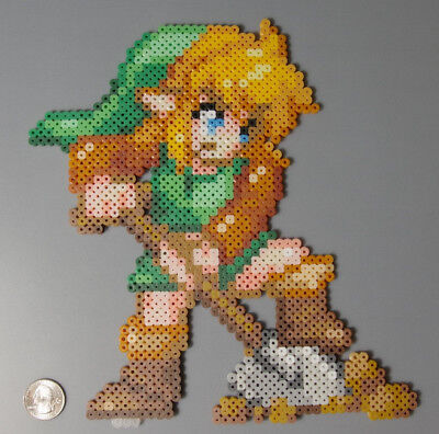 Link Legend of Zelda Link to the Past Nintendo Perler Beads