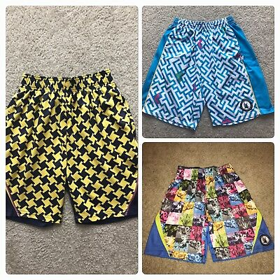 Boys Flow Society Lacrosse Player Shorts Youth Medium