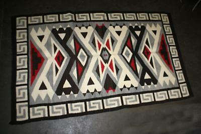 ANTIQUE VINTAGE NAVAJO BLANKET RUG UNUSUAL KLAGETOH 1920s-40s 75x46 A++