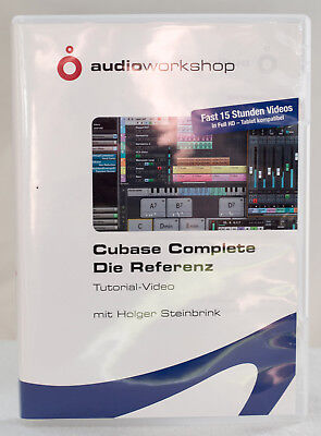 Cubase Complete - Die Referenz (Video Tutorial) von Holger Steinbrink