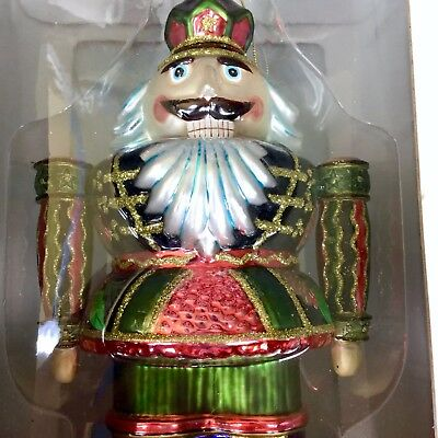 Fitz and Floyd Nutcracker Collection Pine Cone Christmas Ornament Hand Painted