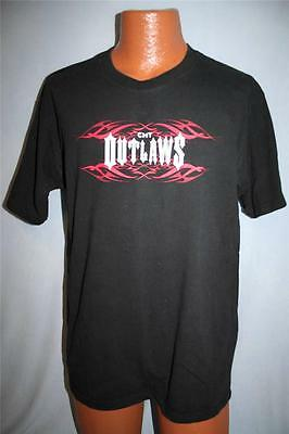 CMT OUTLAWS 2004 Tennessee State Prison Concert T-SHIRT L Kid Rock HANK WILLIAMS