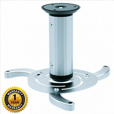 Ceiling Ceil Mount Rotating Swivel Tilting Projector Bracket Holder Support 10kg