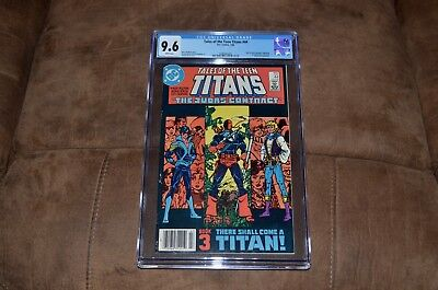 Tales of the Teen Titans #44 9.6 CGC