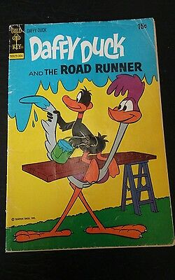 DAFFY DUCK AND THE ROAD RUNNER #81- 1973 Comic Book -Gold Key
