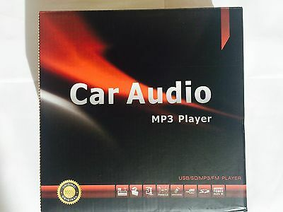 Car Stereo In-Dash MP3 Player FM USB SD AUX Input Receiver