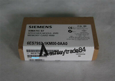 Siemens Memory Card 6ES7 952-1KM00-0AA0 New Factory Sealed