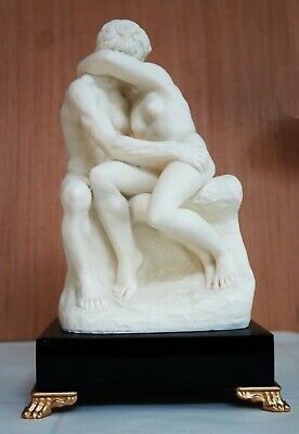 Kiss by Rodin. Large. Santini. Italy.