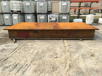 """1 3/4"""" thick Steel layout tables two available fixture chassis plate"""