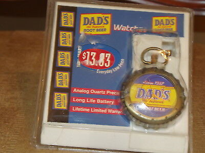 Vintage Dad's Old Fashioned Root Beer Stop Watch Analog Quartz Precision MIB