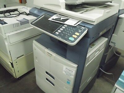 TOSHIBA eSTUDIO 257 COPIER WITH LOW 250K COPY COUNT - FREE SHIPPING