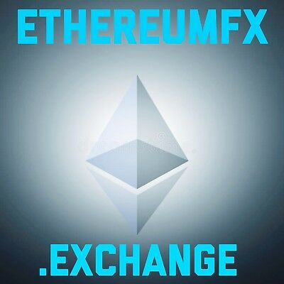 ETHEREUMFX.EXCHANGE Domain Name for sale Bitcoin Ethereum Ripple Cryptocurrency