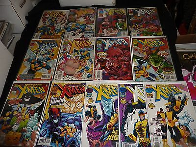 PROFESSOR XAVIER AND THE X-MEN Lot of 13 #1 2 4 5 6 8 9 11 12 15 16 17 18 VF/NM