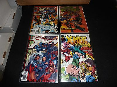 X-MEN Lot of 4 #1 issues PRIME X-TREME AMAZING CHRONICLES VF/NM