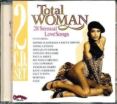 Total Woman 28 Sensual Love Songs Cd - Good Plus