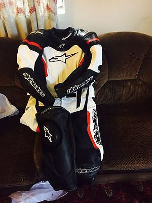 MOTORBIKE leather suits MotoGP racing Motorcycle leather suit All size available
