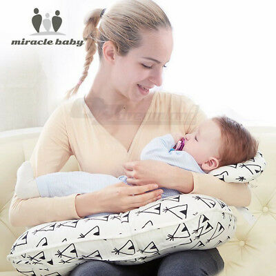 Multifunction Breastfeeding Nursing Support Cushion Baby Pillow Set Detachable
