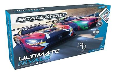 Scalextric C1356 ARC ONE Ultimate Rivals Mercedes Vs BMW GT3 Slot Car Set
