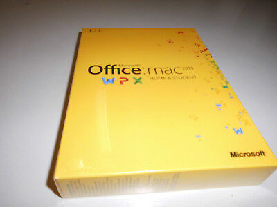 Microsoft Office für Mac 2011 Home & Student 1 MAC
