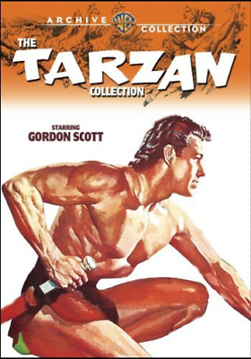 TARZAN COLLECTION: STARRING...-Tarzan Collection - Starring Gordon Scot DVD NEUF
