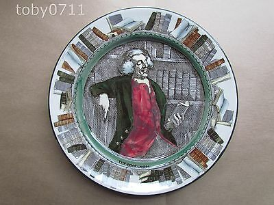"""ROYAL DOULTON D3089 THE BOOKWORM 10½"""" PLATE - STUNNING CONDITION (Ref1444)"""