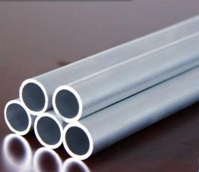 """1Pcs 1.18""""od  0.65""""id 0.27 Thickness 6061 Aluminum Tube Pipe Round L=12 Inch"""