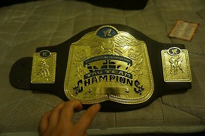 WWE smackdown tag title signed foam kids belt