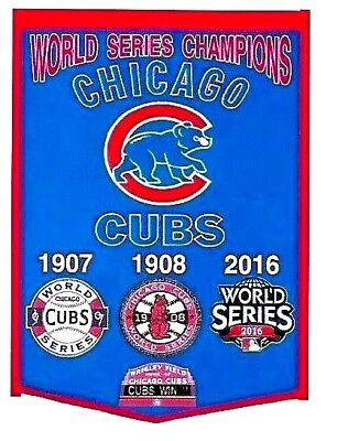 The Chicago Cubs 1907 1908 And 2016 World Series Champion Fridge Magnet
