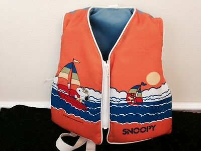 Snoopy Vest 1958 Adorable- Great Display Piece- Ultimate Vintage
