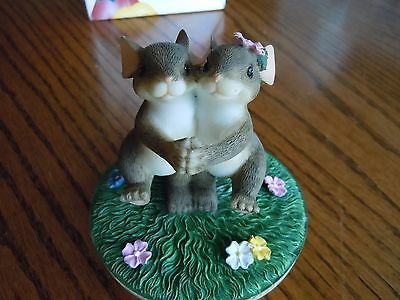 """Charming Tails Candle Topper """"It Takes Two..."""" Fitz and Floyd # 2019 NIB"""