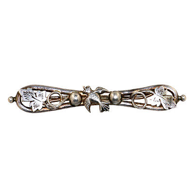 (1869)  Silver Sri Lanka brooch, Early 20th century
