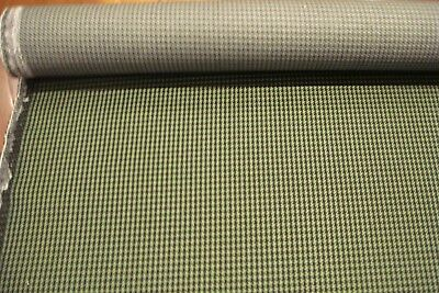 Ford Xc Falcon Gs , Fairmont Gs  Original Nos Green Houndstooth Seat Fabric