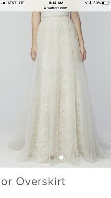 Tulle Wedding Dress Overlay