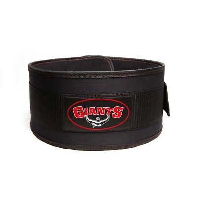 Giants Pro WeightLifting Belt - Back & Lower Lumbar Support - LARGE