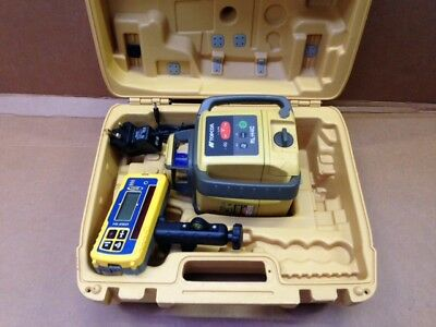 Topcon RL-H4C Rotating Laser Level with MM Receiver + Tripod + Staff