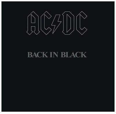 AC/DC - Back in Black (Vinyl LP) • NEW • Malcolm & Angus Young