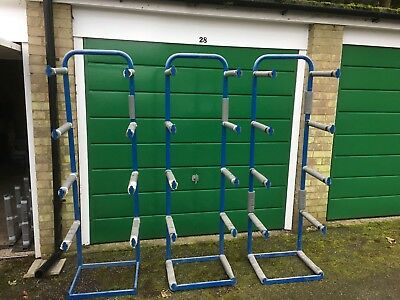 Free Standing Horizontal Storage Racks X 3