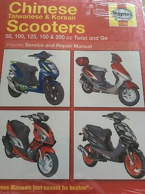 Chinese Taiwan Korean Twist & Go Scooters Haynes Manual