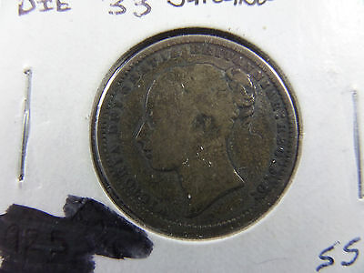 1871 Great Britain 1 Shilling Coin
