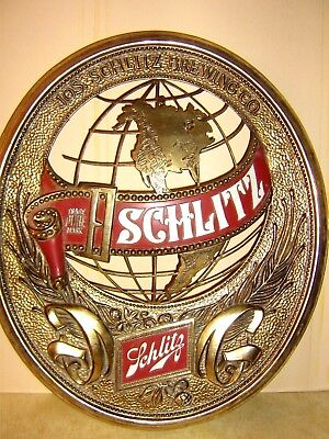 Vintage 1977 Schlitz Beer Sign