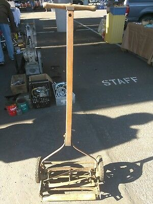 Vintage Hand Lawn Mower Rare and Vintage