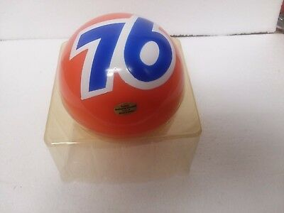 Union 76 Destiny Ball With Inner Box and 76 Shipping Box Plus Stand NEW??